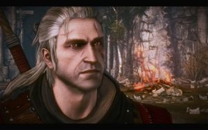 The Witcher 2 : Geralt Portait by iamsointense