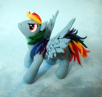 Rainbow Dash Sculpture by MaryBunnie