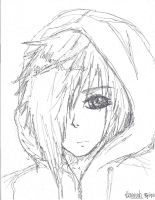 Hooded Zexion by GiveEmHellKiddd