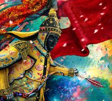 Military Robot of Qing Dynasty by valda515