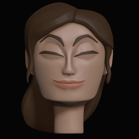 3d Character Practice model by Toomanypenguins