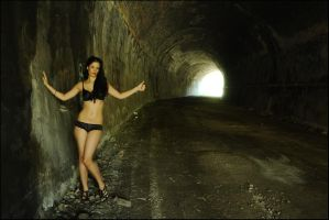 Stacey - tunnel lingerie revisited 1 by wildplaces