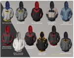 Batman Hoodies! Part !! by prathik