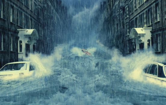 Streets Under Water by storm32167