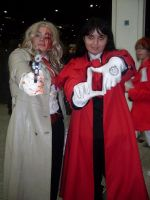 Integra and Alucard MCM expo by Ai-For-Art