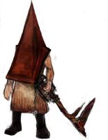 Heartblade Pyramid Head by jameson9101322