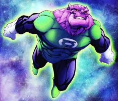 Randy Greens Kilowog by dcjosh