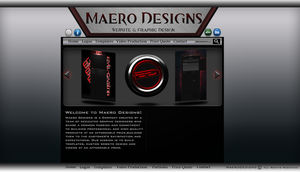 Finalized MD Web Design by MaeroDesigns