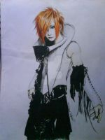 Uruha of The Gazette by kujinihayashi