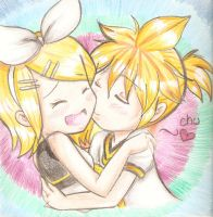 kagamine love by BLEEDFan95