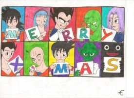 Dragonball Z-Merry Christmas '11! by Ravens-of-Rome