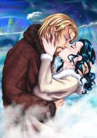 Kiss in the North 1 by larkabella