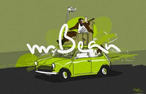 mr. bean by sam4grafix