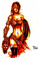 Medieval Witchblade.... by armedlv3