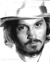 Unfinished Johnny Depp by Furby0305