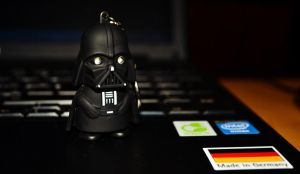 My little Vader by Betelgeuse7