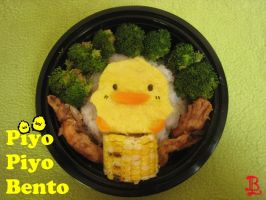Piyo Piyo Bento Box by adnileb