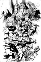 Guardians of the Galaxy by deankotz