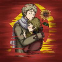 aph: Sunflowers by Hetalia-Rol