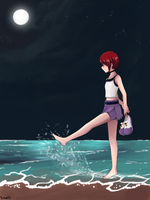 Night Sea by Hallsth-Eien