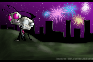 OH MY IRK WHAT THE- by Invader--ZIM