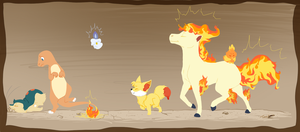 March of the Fire types by Tinnypants