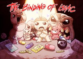 The binding of Isaac by DewNoir