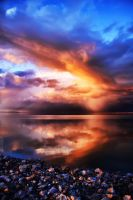 Fire on the Waterfront by TPextonPhotography