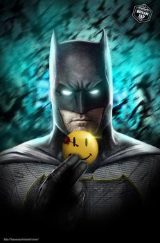 Batman - The Button by Bryanzap