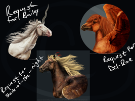 Request Batch One by All-the-Kings-Horses