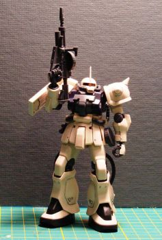 MS-06F-2 Zaku II EF Colours by LoricTheMad
