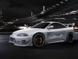 Mitsubishi Eclipse by blackdoggdesign