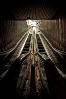 Escalators by Sblourg
