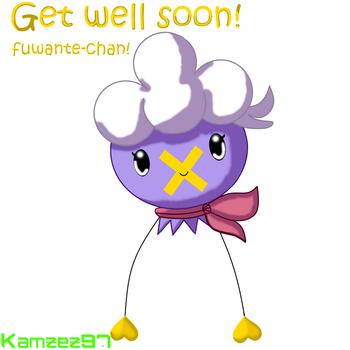 Get well soon fuwante-chan! by Axial97