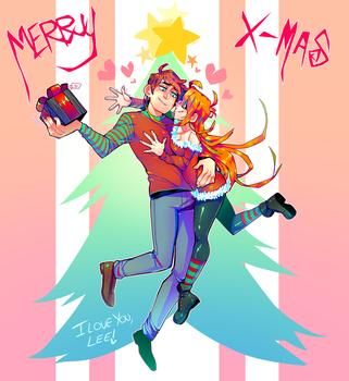 HAPPY CHRISTMAS BB by Krooked-Glasses