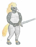 Horse Warrior by donkfur78