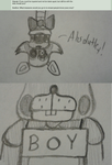 Ask The FNAF Crew! Question 81 by InvaderAllieNinja