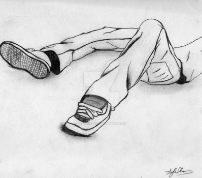 Those Kicks Sketch by LeylaCelest