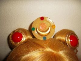 SAILOR MOON BROOCH AND OGANDO COVERS by ChelseaHavoc