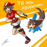 Aile the pokemon trainer by borockman