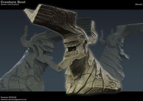 Creature Bust02 by sterna