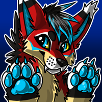 Katana Paws Up Icon by KalunaSkunk