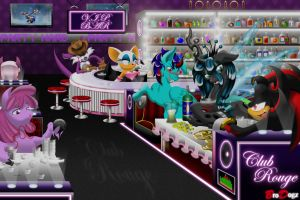 Commission: Night Life by BroDogz