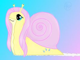 Flutter Snail by blackrose88