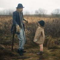 Girl and Scarecrow by Anhen