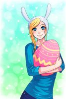 easter bunny :3 by majigoma