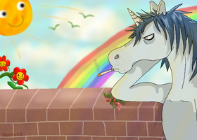 One day in unicorn land by Natomi