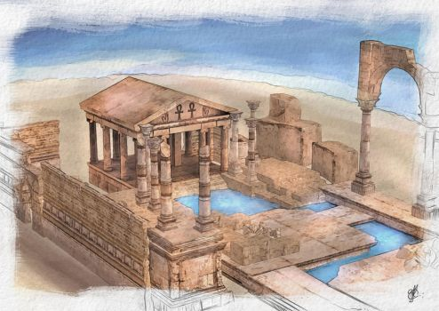 Ancient Egyptian Mystery Schools by GobGrael