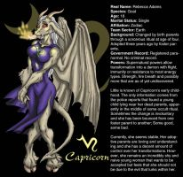 CAPRICORN REFERENCE PIC by Eggplantm