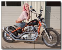 Hannah's Harley by ricmerry